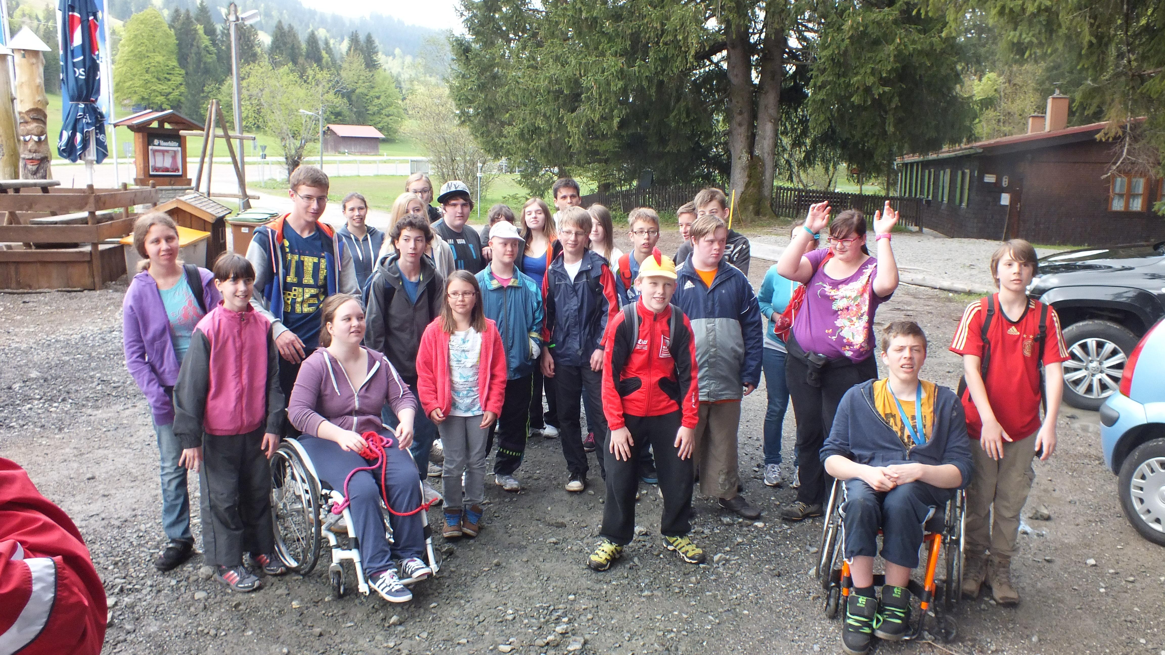 VSV Jugend bei der BVS Sportwoche im Haus Unterjoch 2013 - VITAL ...